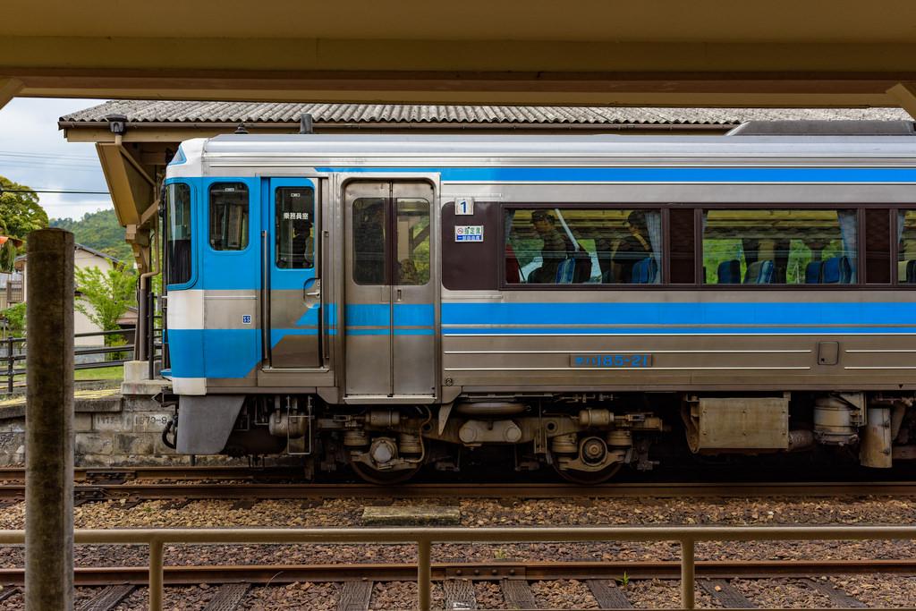牟岐駅にて