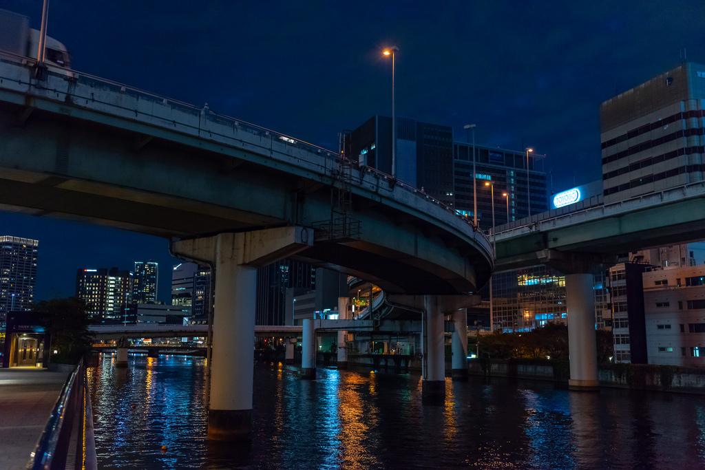 中之島川夜景2